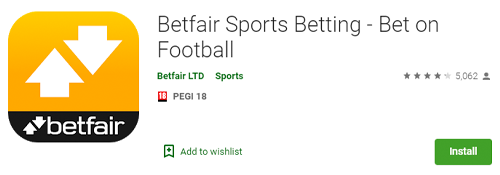 betfair mobile app in the play market