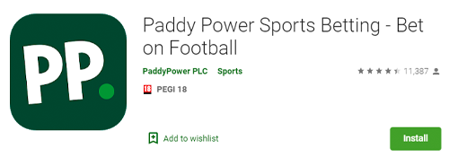 paddy power mobile app in the play market