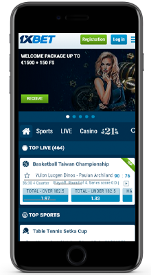 live betting on 1xbet on iphone